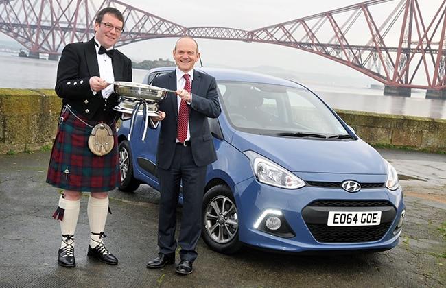 Hyundai I10 Grand I10 Won The 2014 Scottish Car Of The Year