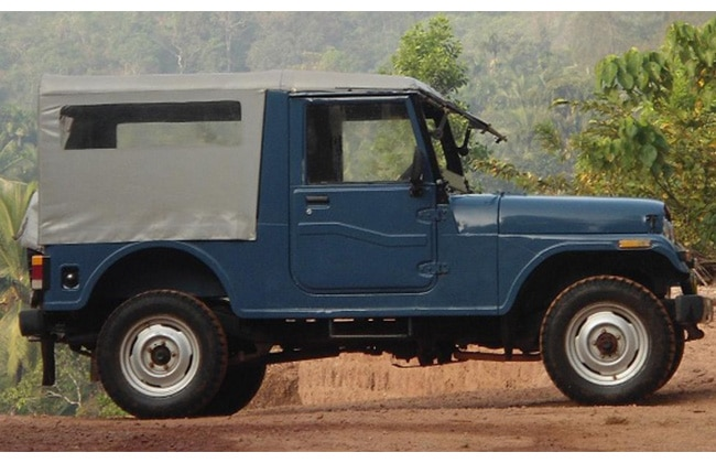 Mahindra S Version Of The Jeep The Journey Features