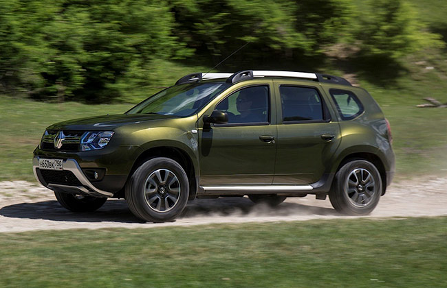 confirmed renault duster facelift to get an amt. Black Bedroom Furniture Sets. Home Design Ideas