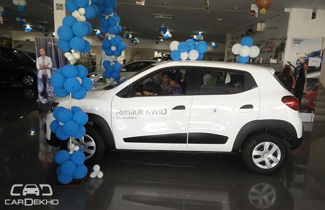 Renault Kwid Reaches Dealerships Deliveries Begin