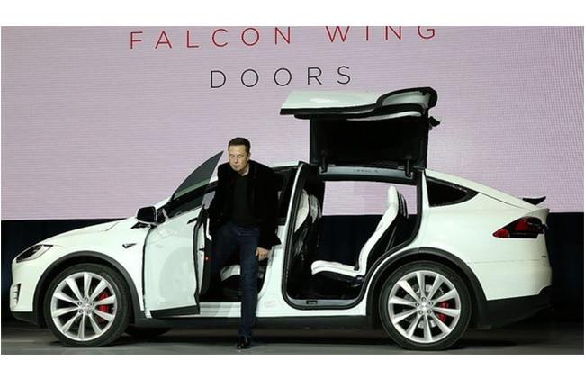Elon Musk Unveils Model X