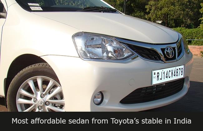 2014 Toyota Etios Facelift First Drive Cardekho Com