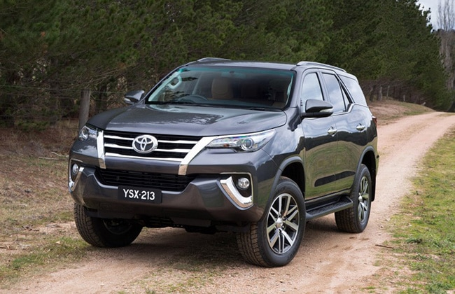 Next generation Toyota Fortuner