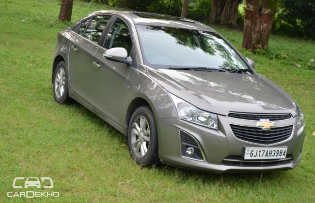 Chevrolet Cruze Crosses Three Million Sales Mark Globally
