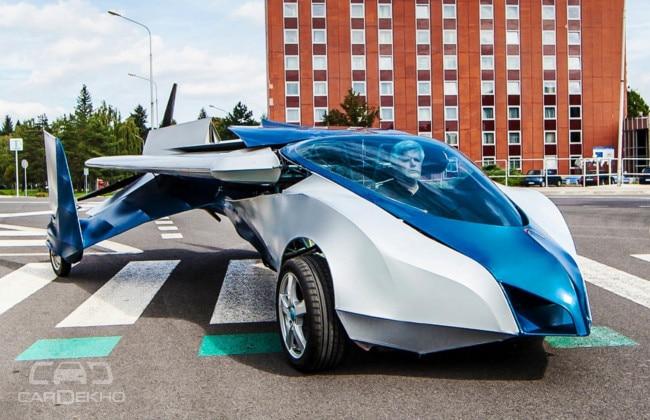 Flying car AeroMobil 3.0