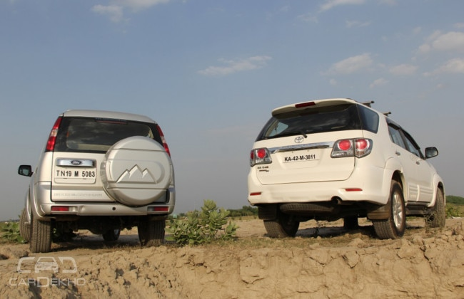 Ford Endeavour & Toyota Fortuner