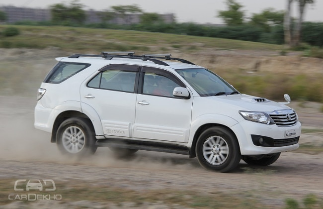 ford endeavour versus toyota fortuner comparison test