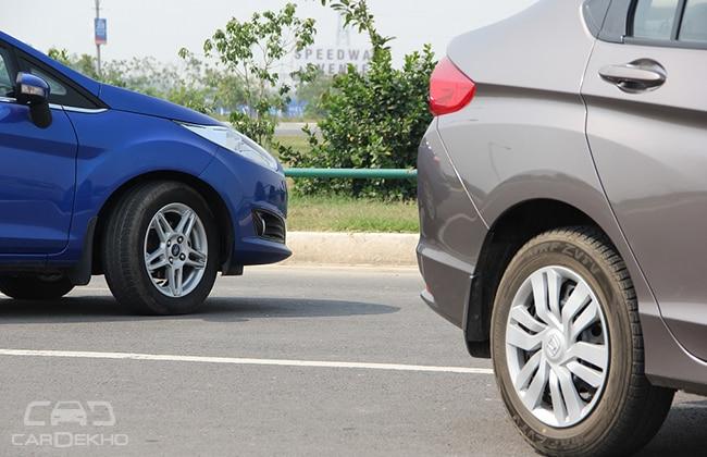 Honda City versus Ford Fiesta