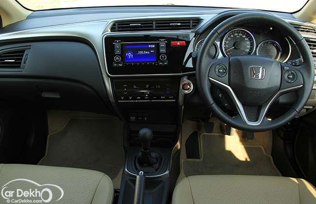 Does honda city have safety airbags for Image city interiors