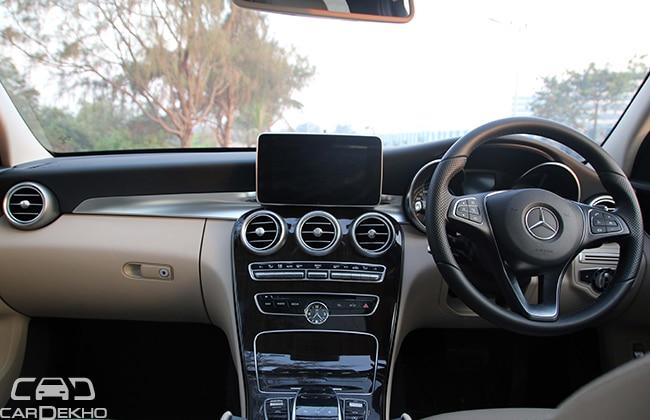 Mercedes benz c 220 cdi expert review for Cdi interior design