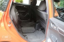 Magic Seats - The rear seats can be folded in a variety of combinations. The Jazz can be converted into a mini van on demand.