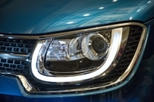 LED projector headlamps are unique to the Ignis. They look super cool too!