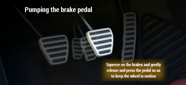 Pumping the brakes infographic