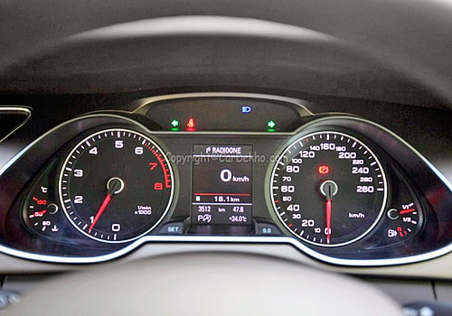 What is the top speed of Audi A4? | CarDekho.com