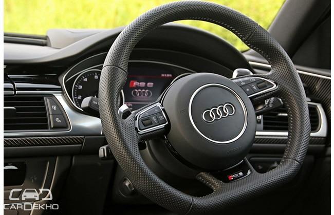 Audi RS6 Steering