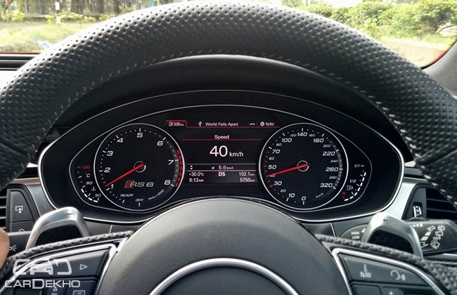 Audi RS6 Instrument Cluster