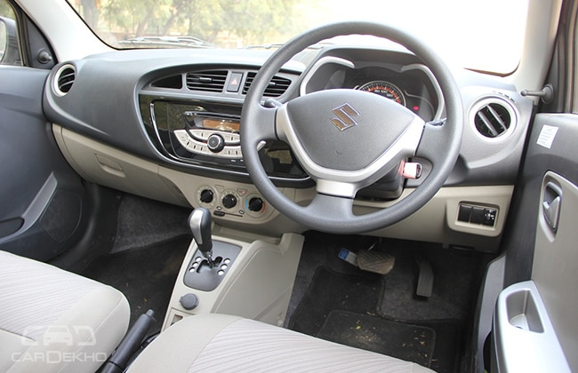 Maruti alto k10 amt for Interior decoration of maruti 800
