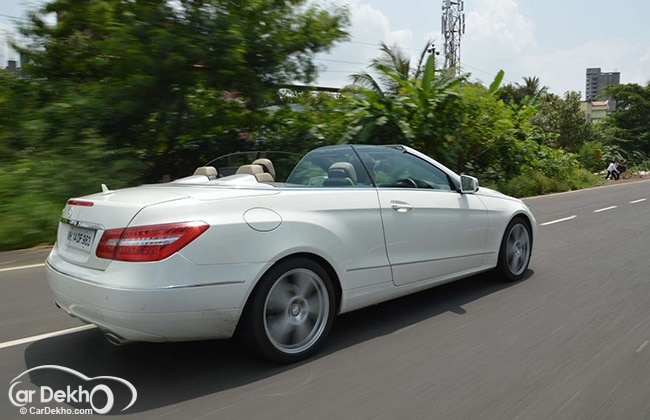 Mercedes benz e cabriolet expert review for Mercedes benz car loan rates