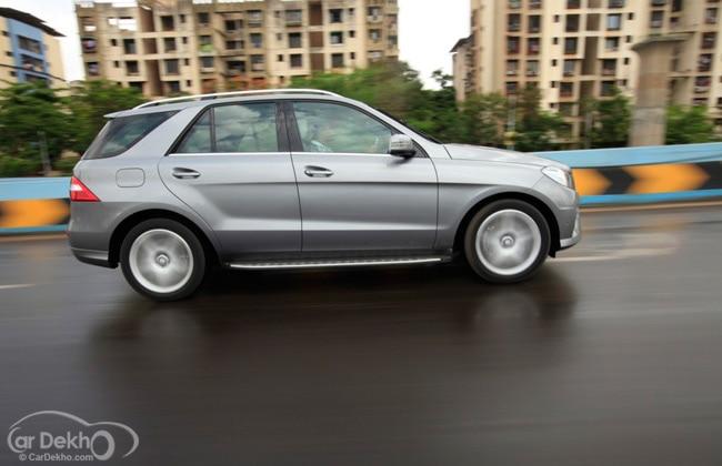 European Mercedes Ml