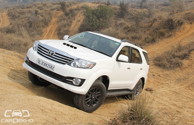 Toyota Fortuner 3 0 4wd Automatic Expert Review Cardekho Com