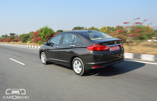 Side Profile of the New Honda City