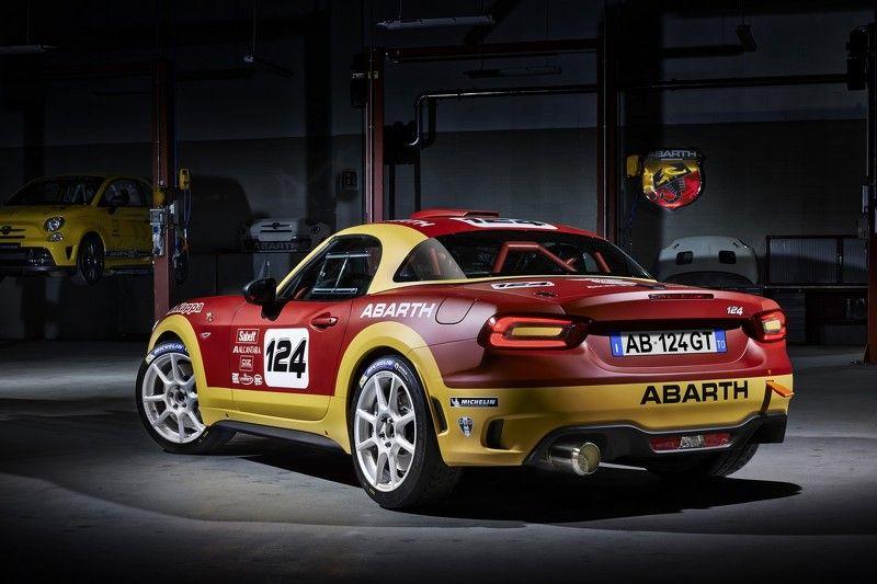 Rally-Spec Abarth 124
