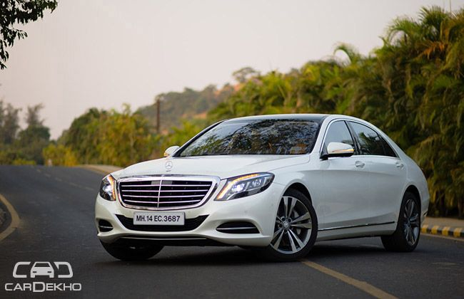 Mercedes benz s class price in india review pics specs for Different models of mercedes benz