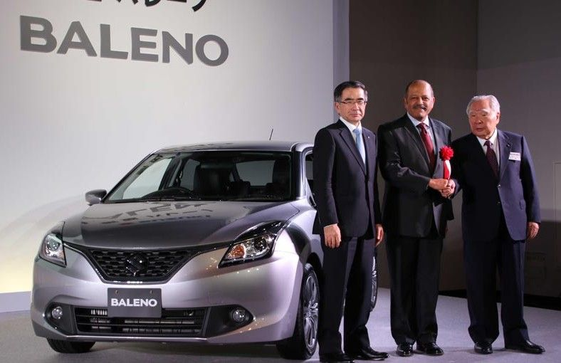 Baleno Japan launch