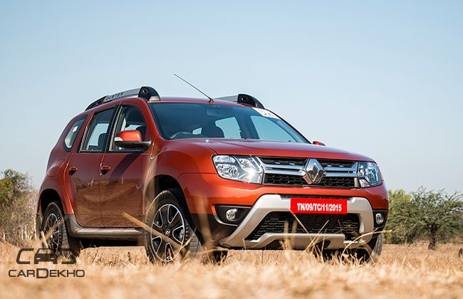 2016 renault duster amt first drive review. Black Bedroom Furniture Sets. Home Design Ideas