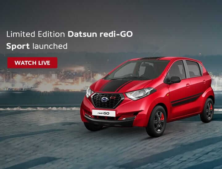 Datsun RediGo Sports Launched