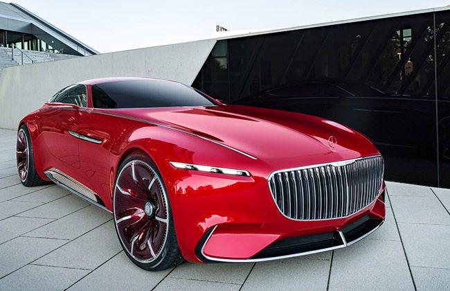 मर्सिडीज़ ने दिखाई नए विज़न कॉन्सेप्ट की झलक